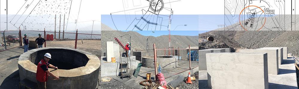 Montaje Ventilador Extractor Mina Subterránea